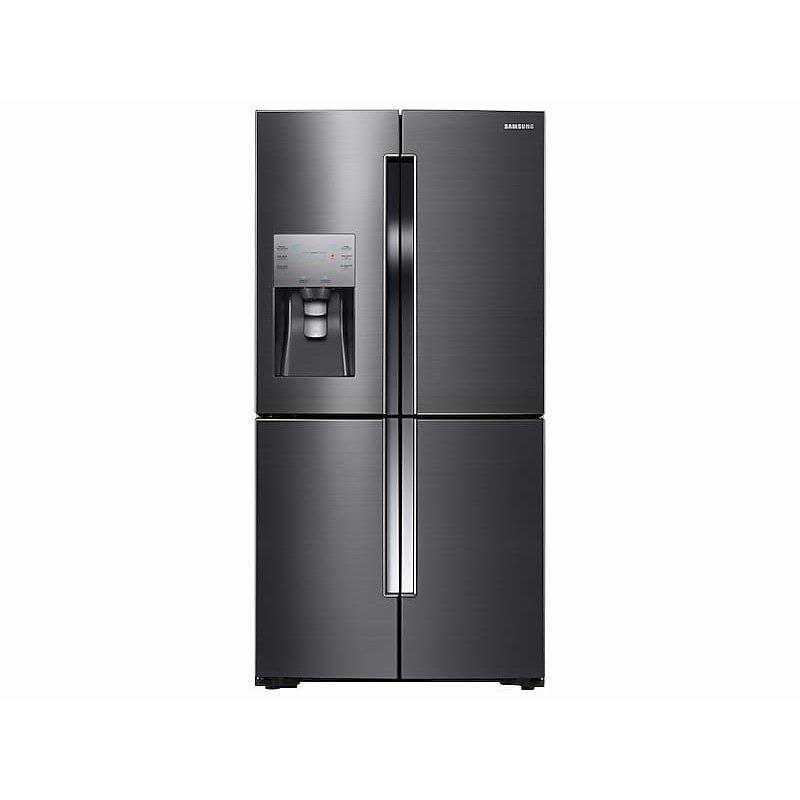 23 cu. ft. Counter Depth 4-Door Flex™ Refrigerator with FlexZone™ in Black Stainless Steel