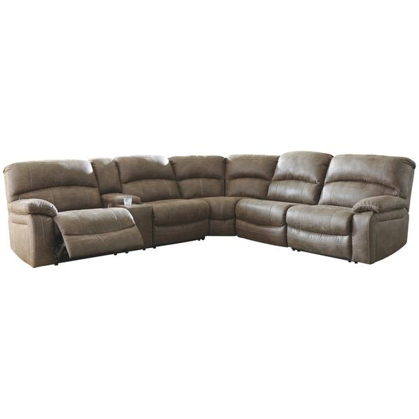 See Details - Segburg 4-piece Power Reclining Sectional