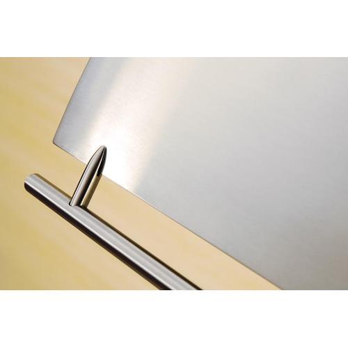 "48"" Cheng Design Cache Under Cabinet Hood with Internal Storage - Stainless Steel"
