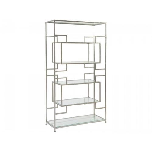 Silver Leaf Suspension Etagere