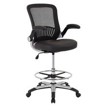 Mesh Back Drafting Chair