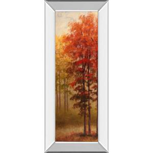 """Fall Trees 2"" By Michael Marcon And Mossy Oak Native Living Mirror Framed Print Wall Art"