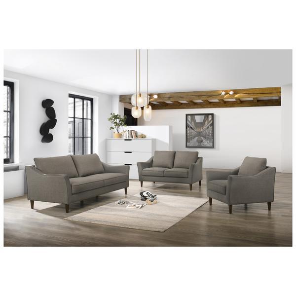 See Details - Bowen Gray Sofa, Loveseat & Chair Set, SWU4037