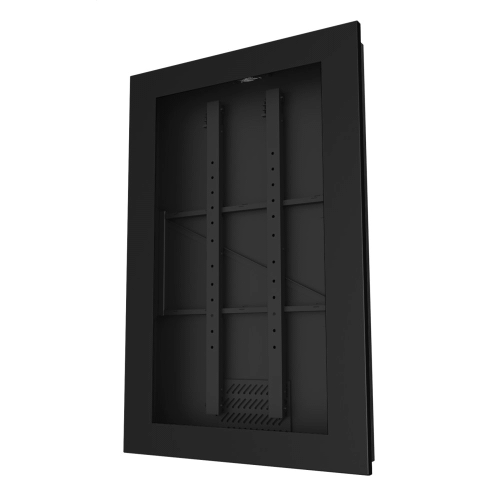In-Wall Kiosk Enclosures (Portrait) - Black / 48
