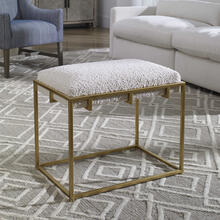 Paradox Small Bench, Gold