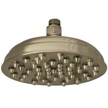 Showerhaus Sunflower Rainfall Showerhead with 45 nozzles - Solid Brass Construction with Adjustable Ball Joint - Brushed Nickel