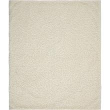 "Faux Fur Fl200 Ivory 50"" X 60"" Throw Blanket"