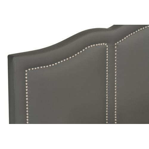Brentmore Queen Upholstered Bed, Charcoal
