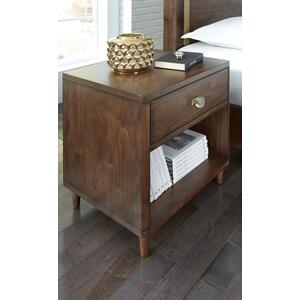 Stanley One Drawer Bookshelf Nightstand