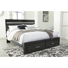 Starberry King Storage Footboard