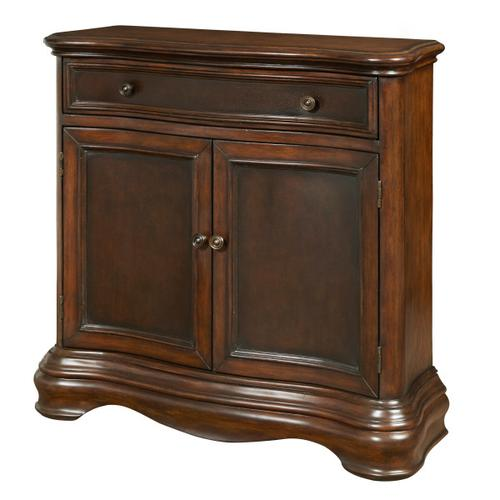 Brown Two Tone Hall Chest