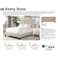 AVERY - DUNE King Footboard and Rails 6/6 (Natural)