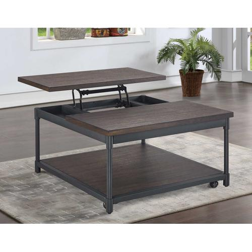 Gallery - Prescott Lift-Top Cocktail Table w/Casters