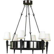 AF Lighting 6790 6-Light Drum Chandelier, 6790-6H