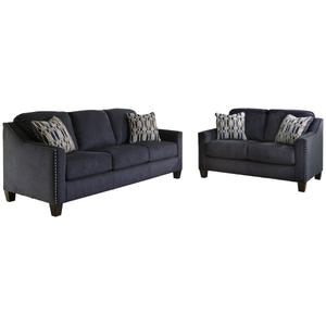 2Pc Sofa and Loveseat By Ashley Model: 8020238 8020235