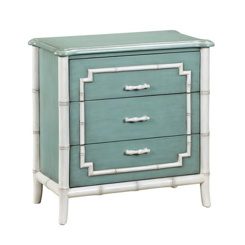 Bamboo Trim Drawer Chest
