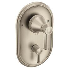 Belfield brushed nickel posi-temp® with diverter valve trim