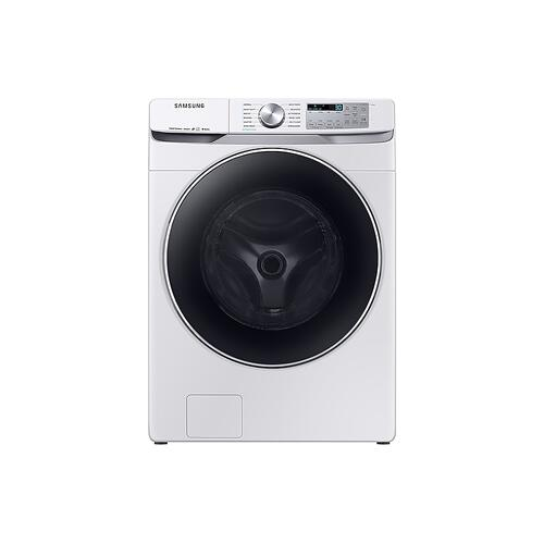 Samsung - 4.5 cu. ft. Smart Front Load Washer with Super Speed in White