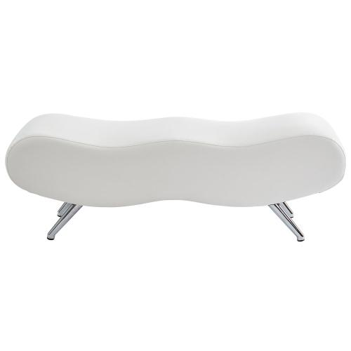 Stealth II Bench in White