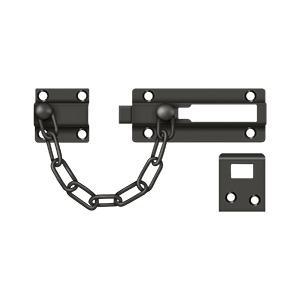 Deltana - Door Guard, Chain / Doorbolt - Oil-rubbed Bronze