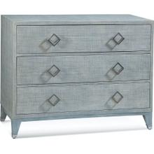 Clarendon Three Drawer Chest in Blue