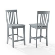 See Details - School House 2pc Counter Stool Set