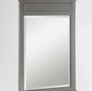 "Smithfield 24"" Mirror - Medium Gray Product Image"
