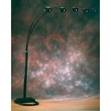 Black Spider Lamp 3Wy Sw