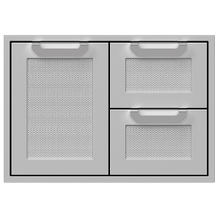 "30""dbl Drawer and Storage Door Combi., Marquise"