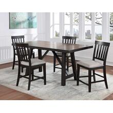 View Product - Halle 5-Piece Counter Dining Set (Counter Table & 4 Counter Chairs)