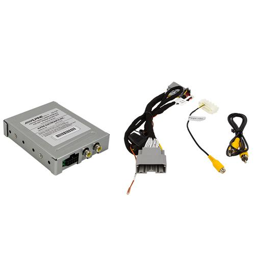 Factory Radio Camera Interface with Active Guide Line System for Jeep Wrangler JK