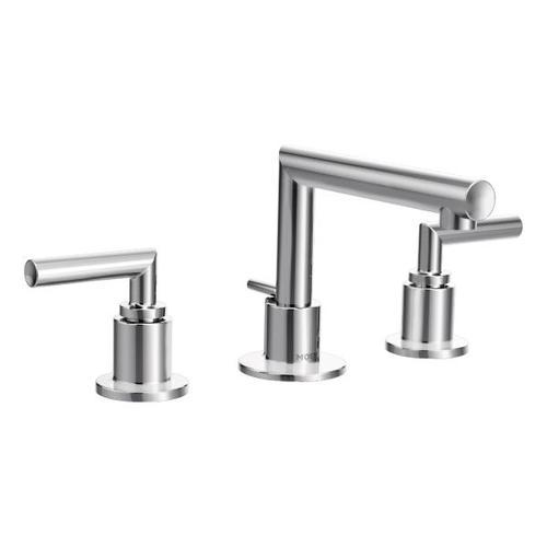 Arris chrome two-handle bathroom faucet
