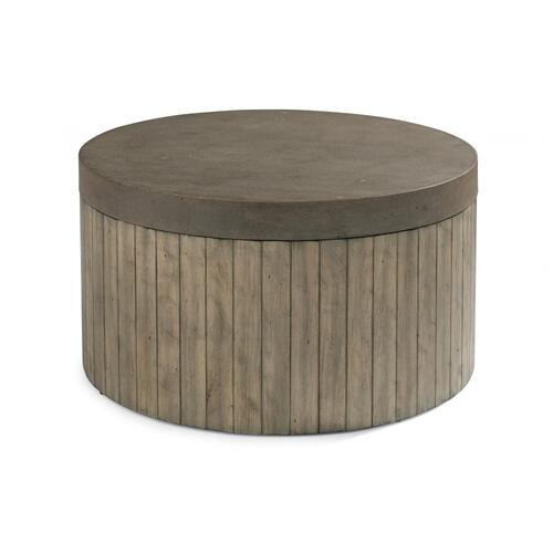 Flexsteel Keystone Round Coffee Table