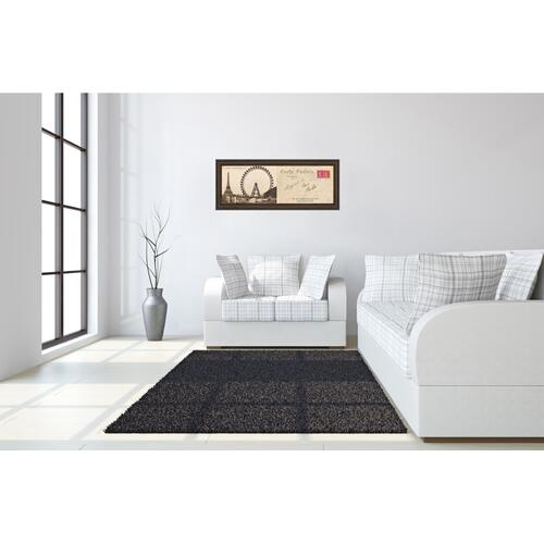 "Classy Art - ""Lettre De Paris Il"" By Wild Apple Graphics Framed Print Wall Art"
