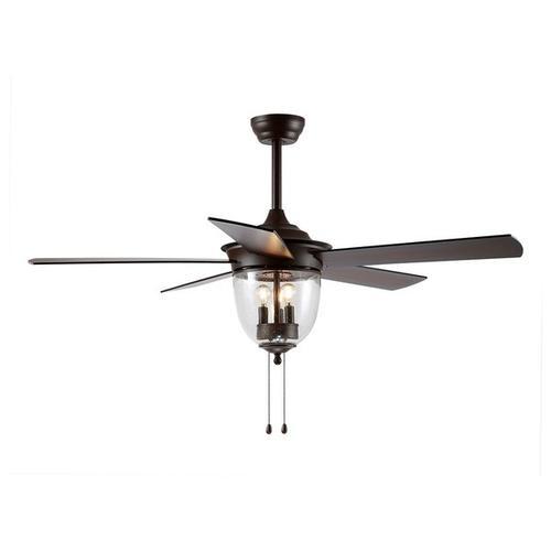Safavieh - Rallen Ceiling Light Fan - Oil Rubbed Bronze