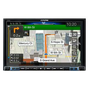 8-Inch Multimedia Receiver with GPS Navigation