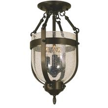 3-Light Hannover Flush Mount /Semi Flush Mount