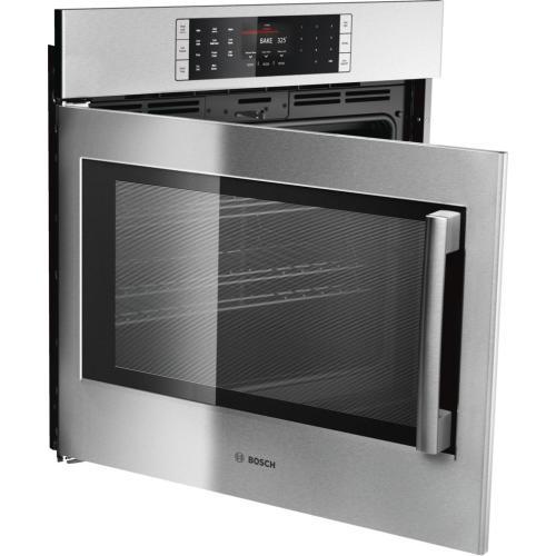 Benchmark® built-in oven 30'' Stainless steel, Door hinge: Left HBLP451LUC