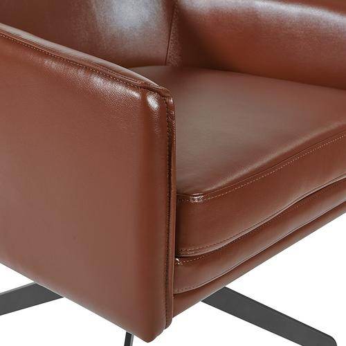 Office Star - Faux Leather Guest Chair