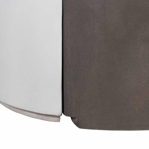 Tov Furniture - Divide Grey/White Concrete Cocktail Table