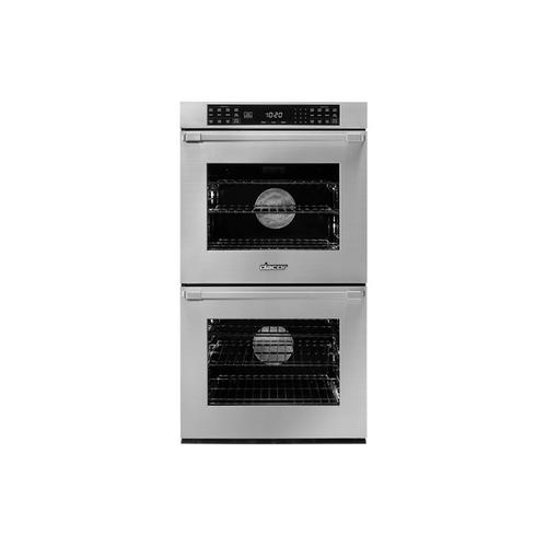 "27"" Double Wall Oven, Silver Stainless Steel with Pro Style Handle"