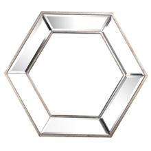 Kirby Hexagon Wall Mirror