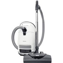 canister vacuum cleaners With maximum suction power and foot controls for thorough, convenient vacuuming.