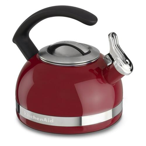 2.0-Quart Stove Top Kettle with C Handle - Empire Red