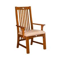 Artisan Ridge Slat-Back Arm Chair