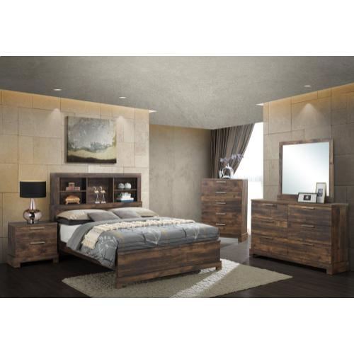 Campbell 3-Piece Queen Size Bed