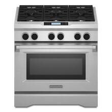 KitchenAid® Commercial-Style Dual Fuel Range - Stainless Steel