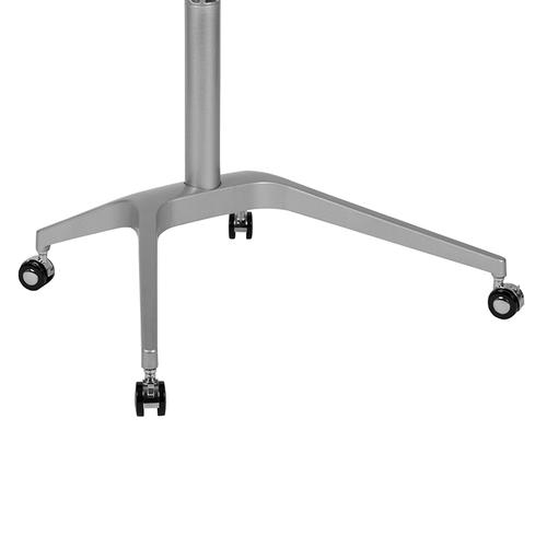 """Flash Furniture - Mobile Sit-Down, Stand-Up White Computer Ergonomic Desk with 28.25""""W Top (Adjustable Range 29"""" - 41"""")"""