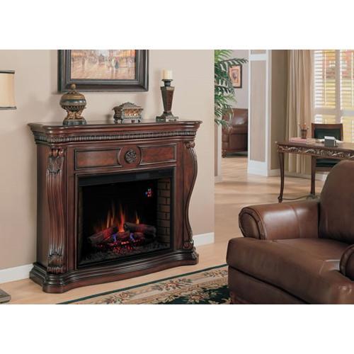 Classic Flame - Lexington Wall Mantel with Firebox