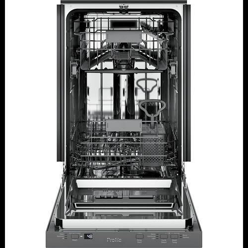 """GE Appliances Canada - GE Profile™ 18"""" Built-In Dishwasher Stainless Steel - PDT145SSLSS"""